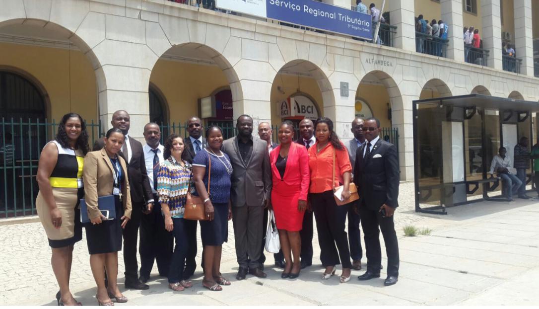 Câmara dos Despachantes Aduaneiros de Moçambique Visita Angola